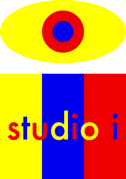 please click to view slideshow of i studio.  logo designed by isarte